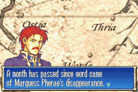 Marquess Pherae's disappearance