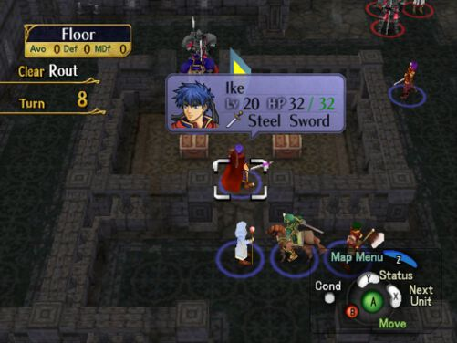 Gameplay of Path of Radiance