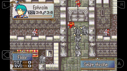 Gameplay of Fire Emblem: The Sacred Stones