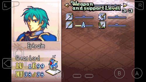 """Ephraim with lances rank """"A"""""""