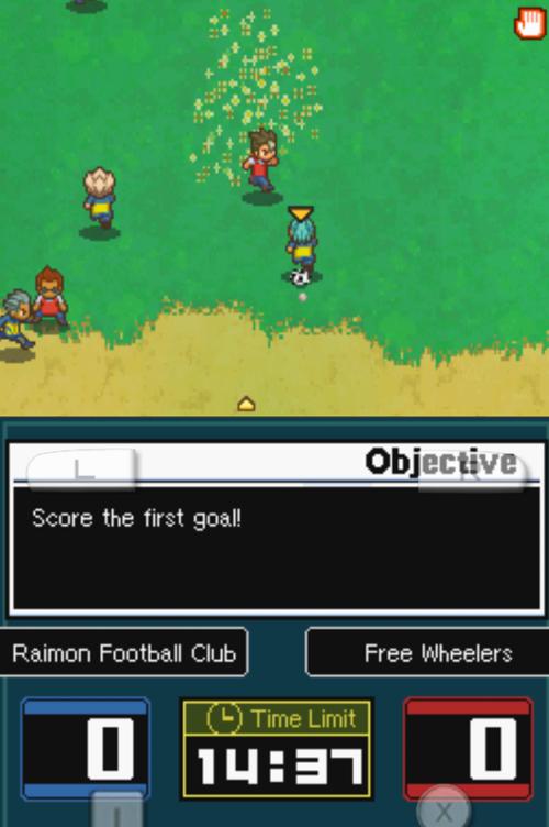 Random battle - score the first goal