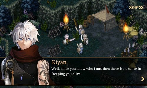 Introducing the main protagonist, Kiyan