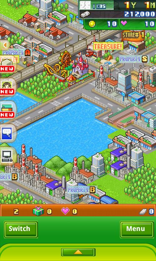 Biz Builder Delux - Town Map