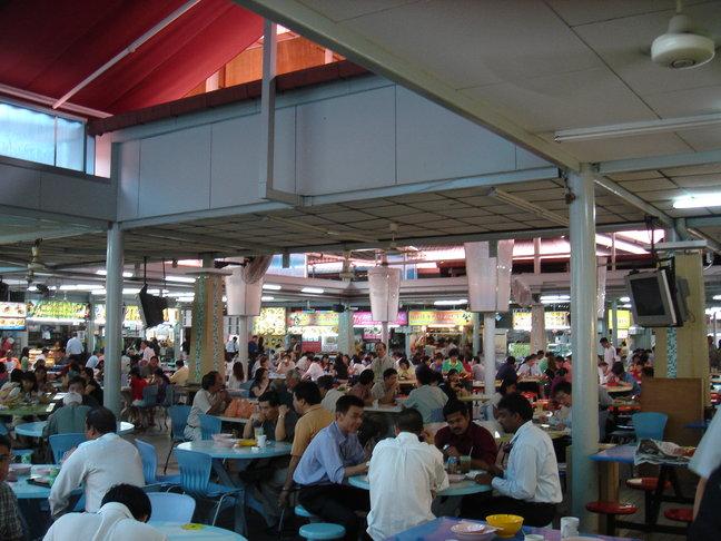 Hawker at Singapore