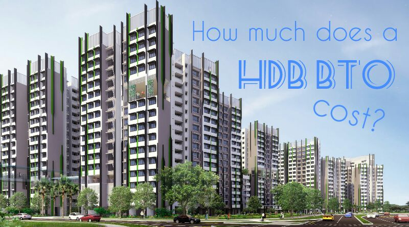 How much does a HDB BTO costs?