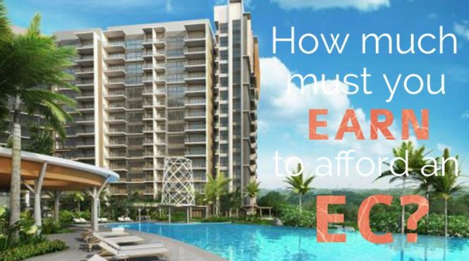How much must you earn to afford an EC?
