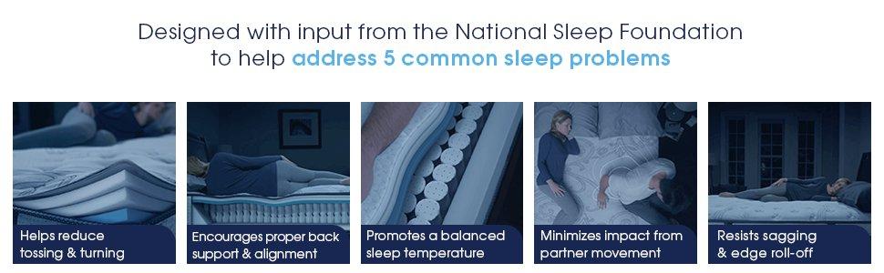 5 Common Sleeping Problems