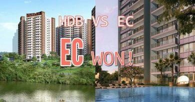 HDB BTO VS EC - EC Won!