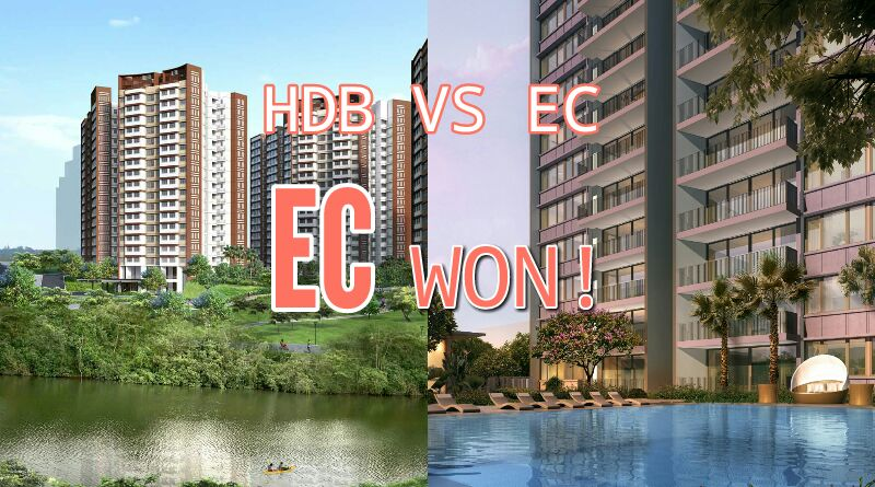 HDB BTO VS EC - EC Won!