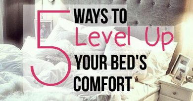 5 ways to level up your bed to make it more comfortable