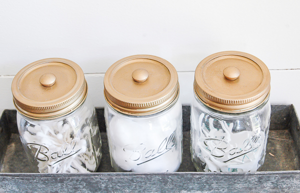 mason jar for daily items