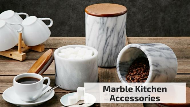 Marble Kitchen Accessories - Sharehook
