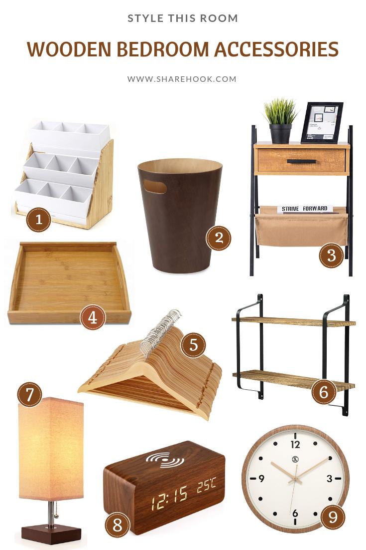 Wooden Bedroom Accessories Sharehook